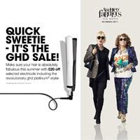 GHD Summer Sale